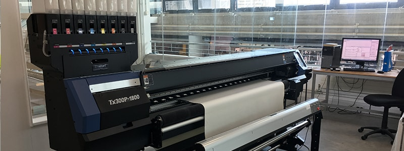 Falmouth University Invest in Mimaki Tx300P-1800 Textile Printer